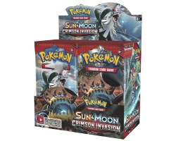 Pokemon Sun & Moon 4: Crimson Invasion Booster Box
