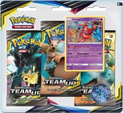 Pokemon Sun & Moon 9: Team Up Blister 3-Pack