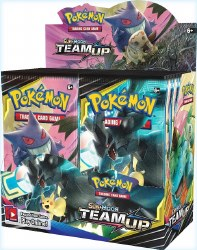 Pokemon Sun & Moon 9: Team Up Booster Box