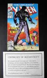 Uncanny X-Men #297 Signed
