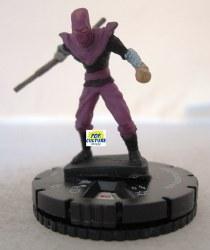 Heroclix TMNT1 008 Foot Soldier (Bo Staff)