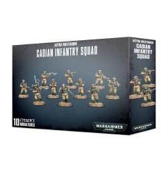 Warhammer 40,000: Astra Militarum Cadian Infantry Squad