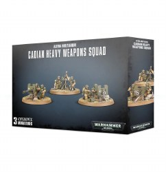 Warhammer 40,000: Astra Militarum Cadian Heavy Weapon Squad