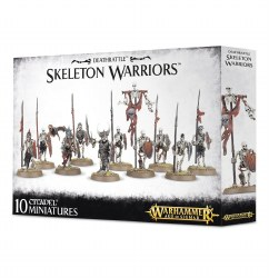 Warhammer: Age of Sigmar - Deathrattle Skeleton Warriors