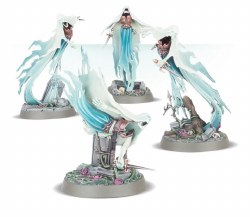 Warhammer Age of Sigmar: Nighthaunt Myrmourn Banshees Easy to Build