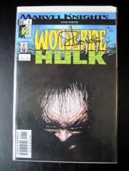 Wolverine Hulk 1 Signed