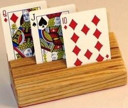 Card Holder: Wooden