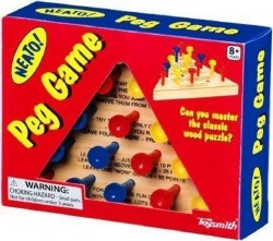 Classic Wooden Peg Game