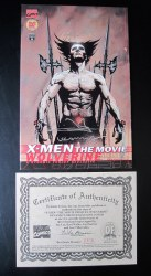 X-men Wolverine: The Movie Sequel Signed