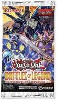 Yugioh Battles of Legend: Relentles Revenge Booster Pack