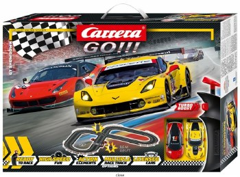"GO!: ""GT Showdown"" Slotcar Set"