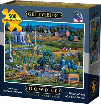 Gettysburg 500pc