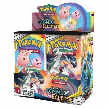 Pokemon 12 Cosmic Eclipse Booster Box