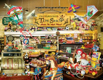 An Old Fashioned Toy Shop 1000