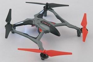 Vista UAV Quadcopter Red RTF