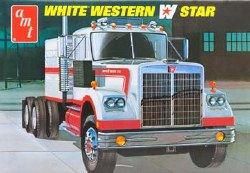 1/25 White Western Star Model Kit