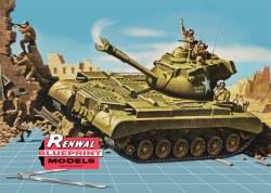 1/32 M47 Patton Tank Plastic Model Kit