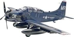 1/48 Skyraider AD-5 (A-1E) Plastic Model Kit