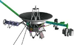 1/48 Unmanned Space Probe Voyager Model Kit