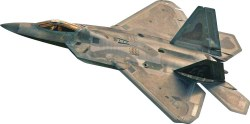 1/72 F-22® Raptor® Plastic Model Kit