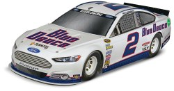 1/24 Brad Keselowski #2 Blue Deuce Ford Fusion Model Kit