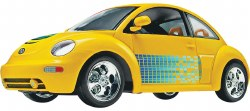 1/24 SnapTite® New Beetle Plastic Model Kit