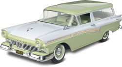 1/25 '57 Ford Del Rio Ranch Wagon 2 'n 1 Plastic Model Kit
