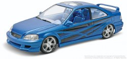 1/25 Fast & Furious Honda Civic Si Coupe Plastic Model Kit