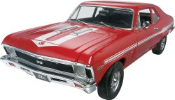 1/25 '69 Chevy® Nova Yenko Plastic Model Kit