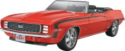 1/25 '69 Camaro SS/RS Convertible 2'n 1 Plastic Model Kit