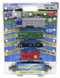 Rail Champ Battery-Powered HO Train Set