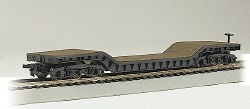 52' Depressed-Center Flat Car, Empty Car Only HO Scale