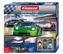 "Digital 132: ""GT Triple Power"" Slotcar Set"