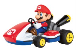 2.4 GHz RC Car: Mario Kart: Mario - 1/16 scale Race Kart with Sound