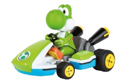 2.4 GHz RC Car: Mario Kart: Yoshi - 1/16 scale Race Kart with Sound