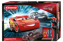 GO! Disney Pixar Cars - Speed Challenge Slotcar Set