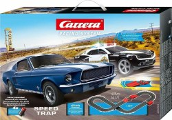 1:43 Speed Trap Battery Powered Slot Car set