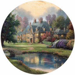Kinkade: Lakeside Manor 500pc