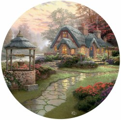 Kinkade: Wish Cottage 500pc