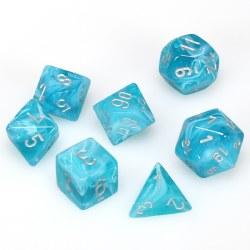 7-set Cube Cirrus Aqua with Silver