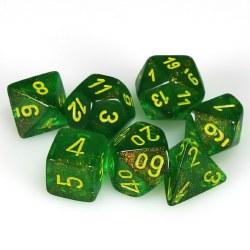 7-set Cube Borealis Maple Green with Yellow