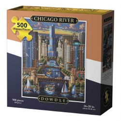 Chicago River 500pc