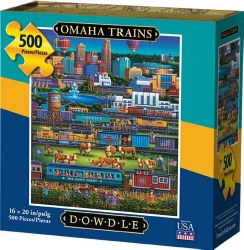 Omaha Trains 500pc