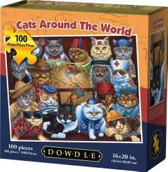 Cats Around the World 100pc