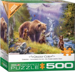 Grizzly Cubs - 500pc