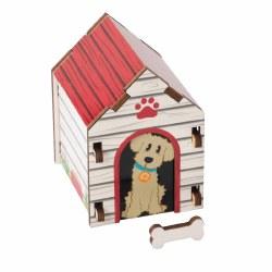 Build it Blueprint Dog House Puzzle