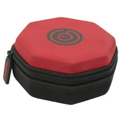 Dice Tray/Case Red Black