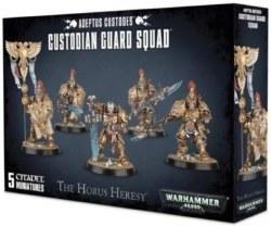 Adeptus Custodes: Custodian Guard Squad
