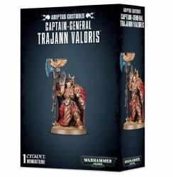 Adeptus Custodes: Captain General Trajann Valoris