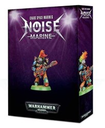 Chaos Space Marines: Noise Marine